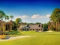 Kilmarlic Golf Course Hole #18 Green Clubhouse